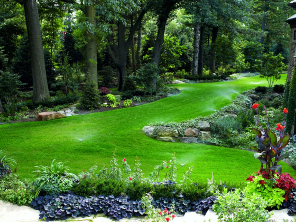 Rugged lawns require a higher number of nozzles