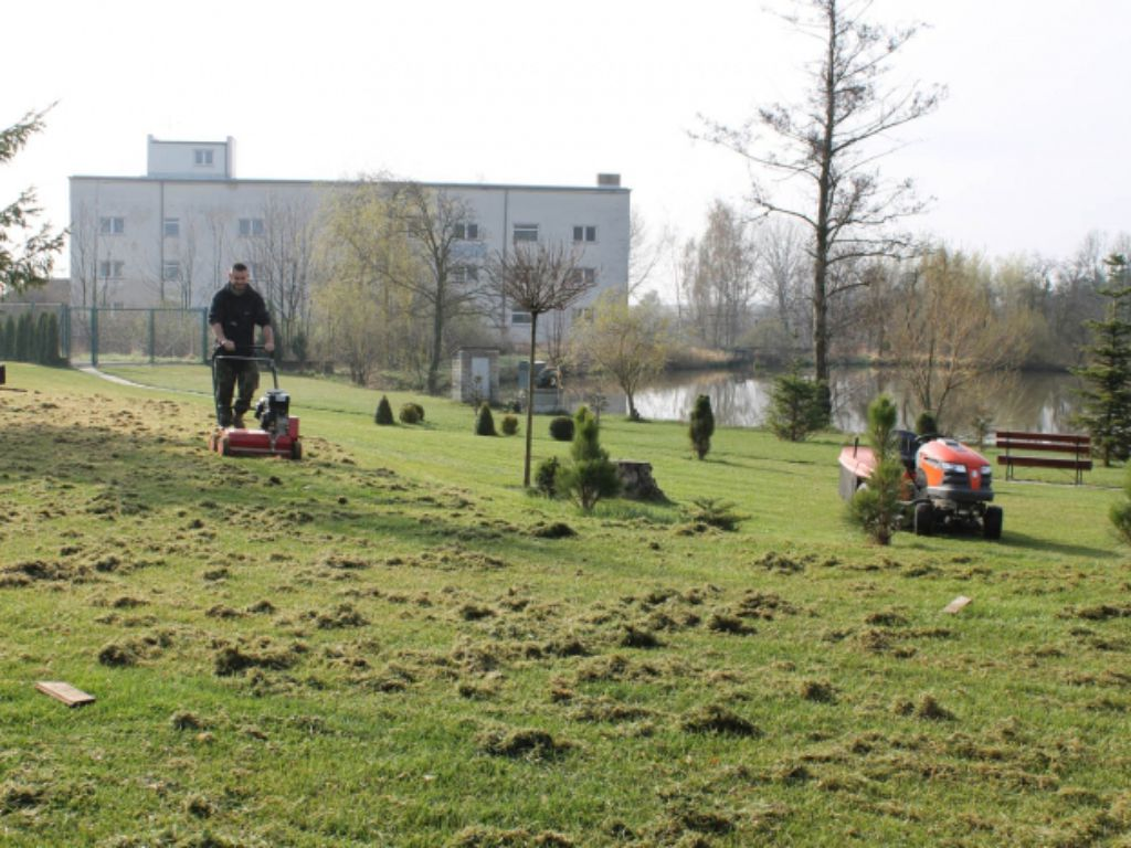 Year-round maintenance of park areas and public spaces