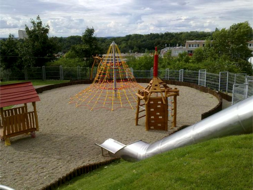 Playground for the age group of children 4 -15 years