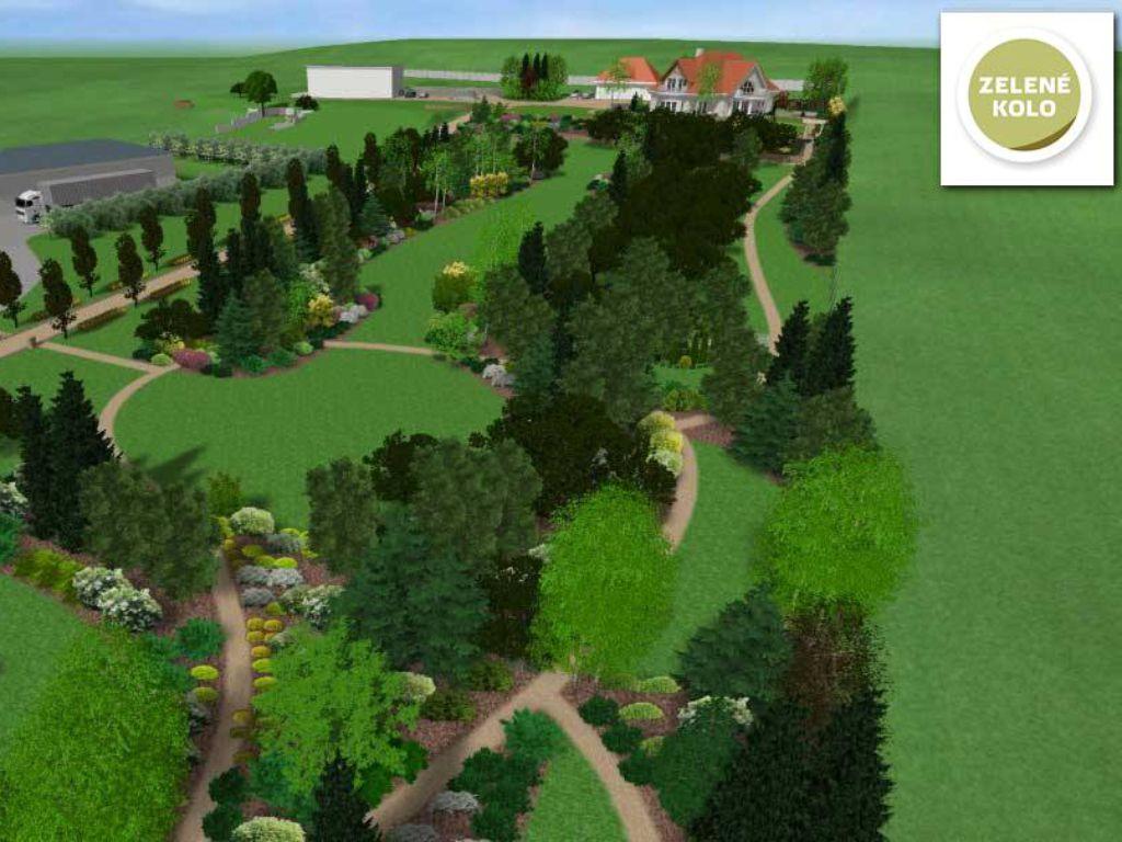 Park landscaping in Kadani