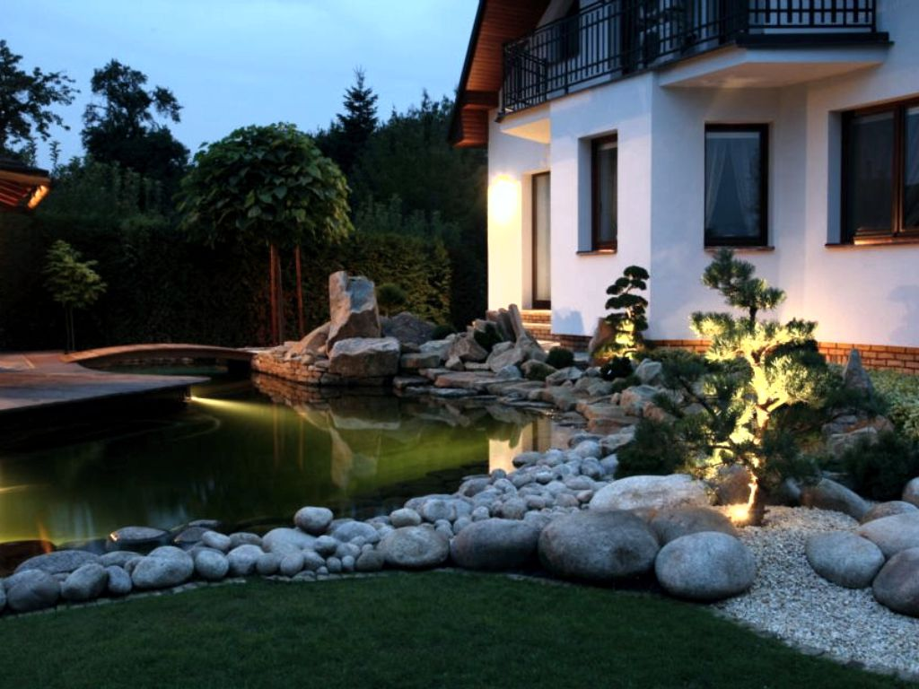 Suitable light in the garden - Your outdoor living room