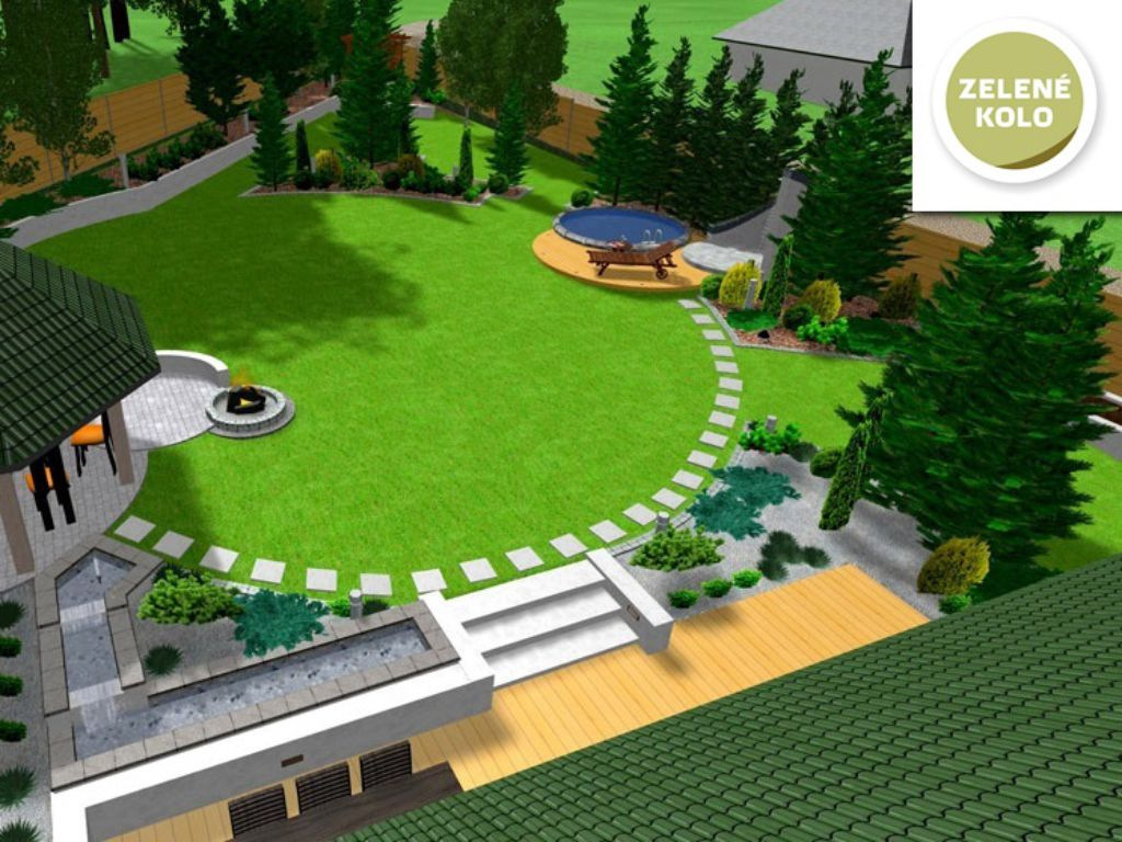 3D garden visualization