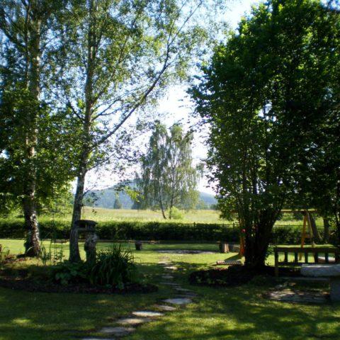 Czech national park garden