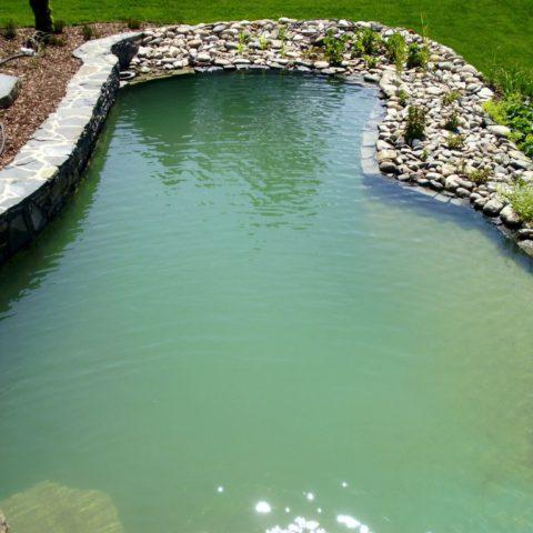 Lower swimming pool in Teplice