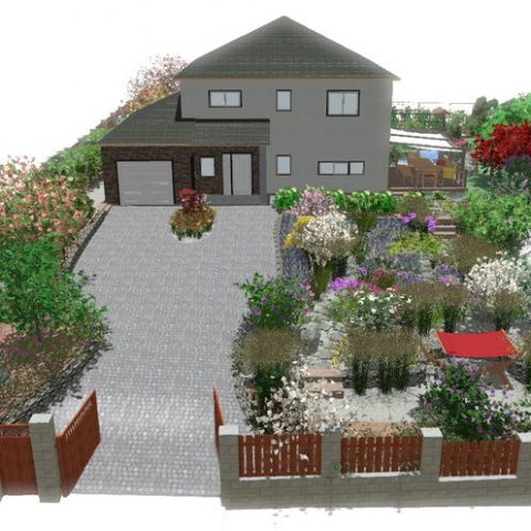 When enlightened customers want a front garden without lawn ...