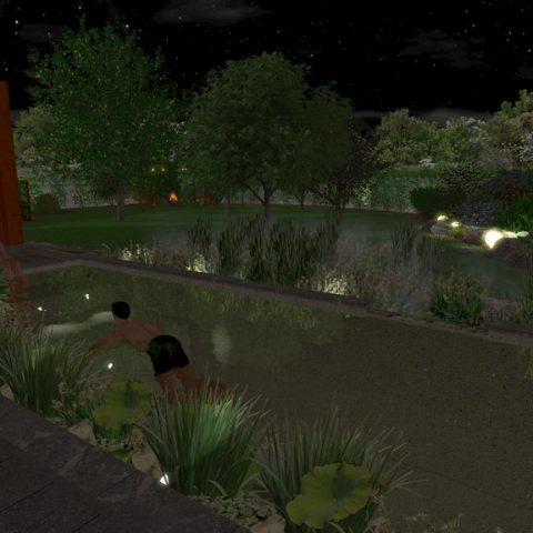 Garden lighting - use the garden even after dark!